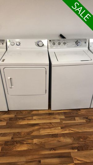 💥💥💥GE AVAILABLE NOW! Washer Electric Dryer Set Ultimate Care #1489💥💥💥 for Sale in US