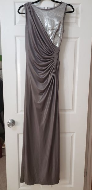 Gorgeous Silver Long Formal Dress for Sale in Woodbridge, VA