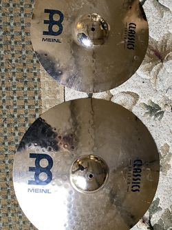 MEINL Classic Custom Crash and Rider Cymbals for Sale in Vancouver,  WA