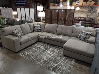 Sectional Sofa, Platinum, SKU# ASH80702TC for Sale in Santa Fe Springs,  CA
