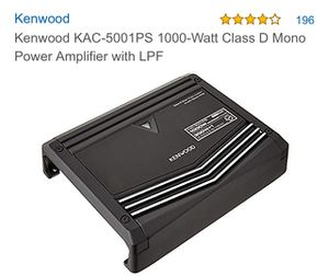 Kenwood Amp for Sale in Minot, ND