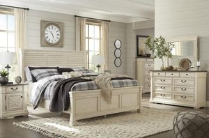 [SPECIAL] Bolanburg Antiiique White Panel Bedroom Set for Sale in Annandale, VA