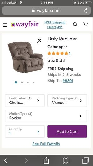 Lazyboy recliner. for Sale in Wenatchee, WA
