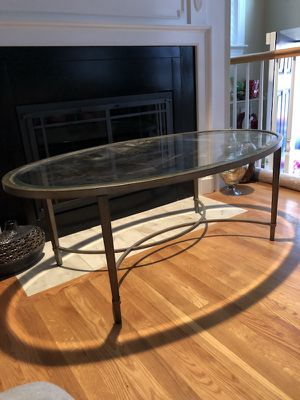 Glass coffee table for Sale in Boston, MA