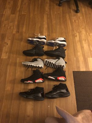 Jordan shoes size 10 need to sell asap!! Please only real offers no low-ball offers please!! Offers less than $180 you will not get a reply. for Sale in Clearwater, FL