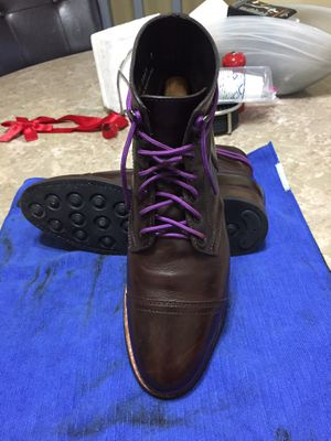 Men Thursday boots captain 8 phenomenal condition used and loved for Sale in Phoenix, AZ