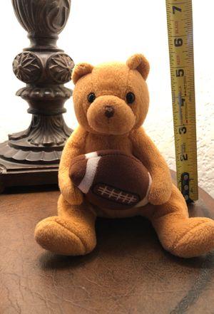 Stuffed Bear w/Football for Sale in Laguna Beach, CA