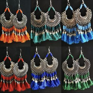 Oxidized Earrings With Beautiful Silk Thread for Sale in Fairfax, VA