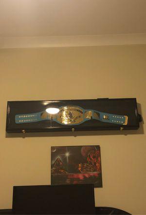 WWF Intercontinental championship/ Custom lit case for Sale in FL, US