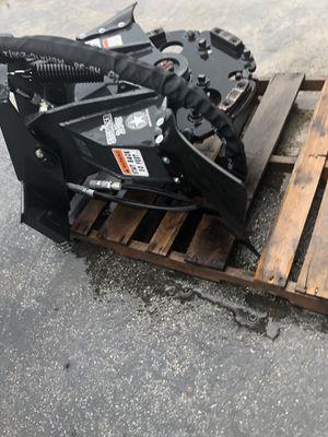 Stumper 240 mini skid steer stump grinder attachment for Sale in Princeton, FL