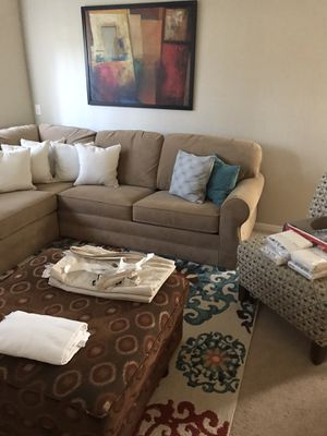 Sofa sectional sleeper for Sale in Haines City, FL