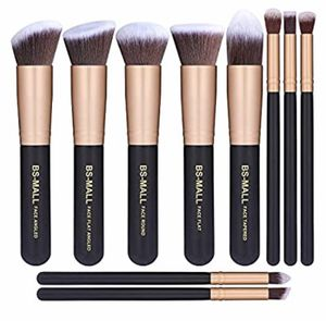 BS-MALL SYNTHETIC KABUKI MAKEUP BRUSH SET for Sale in Pearland, TX
