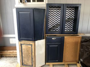 Navy Blue Kitchen Cabinets for Sale in Commerce City, CO