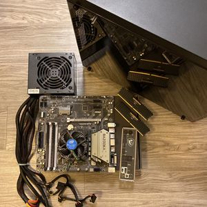 PC Parts (MoBo, CPU, 16gb RAM, Case) for Sale in San Jose, CA