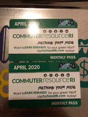 April 2020 bus pass for Sale in Pawtucket, RI