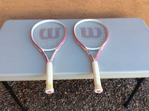 Wilson Tennis Racquets (2) for Sale in Laveen Village, AZ