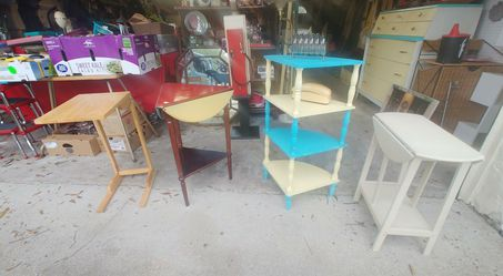 Small Unique tables & Shelves for Sale in Tampa,  FL