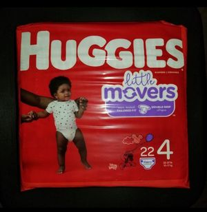 Huggies Little Movers Size 4 Diapers for Sale in Watauga, TX