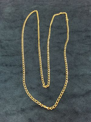 Women's long gold chain necklace for Sale in Ogden, UT