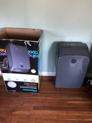 Hisense portable Ac and Heater used once. Excellent condition for Sale in Longview, TX