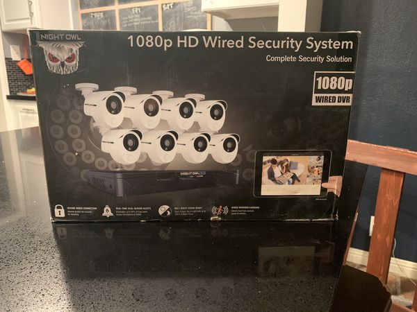 Night Owl Wired Security Cameras