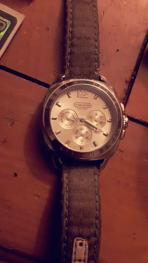 Coach wrist watch for Sale in Pekin, IL