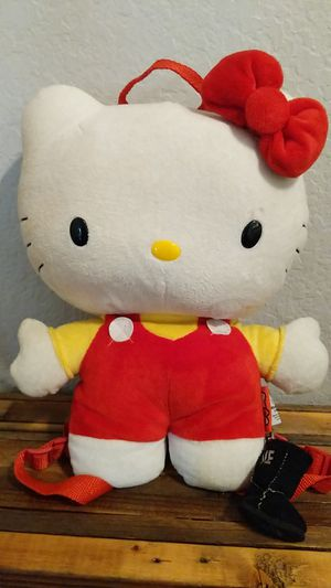 Hello Kitty stuffed animal backpack for Sale in Rancho Santa Margarita, CA