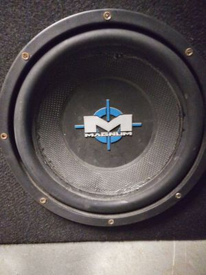 10 inch Magnum speakers in Box for Sale in St. Louis, MO