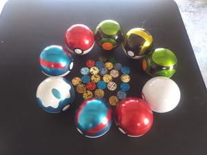 9 Empty Pokemon Pokeball Tins Coins for Sale in Kent, WA