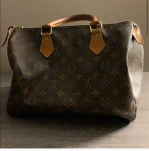 💯Louis Vuitton Speedy Monogram 30 Brown Leather Purse Plus Dust Bag for Sale in Corona, CA