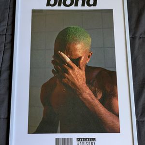 Frank Ocean Blond Print And Poster In Glass Frame for Sale in La Puente, CA