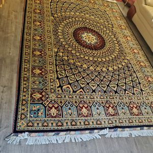 Persian/afghan Hand-knotted Area Rug 7ftx10ft Wool&silk for Sale in Fremont, CA