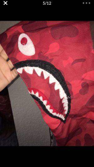 BAPE Red Camo Windbreaker for Sale in Orlando, FL
