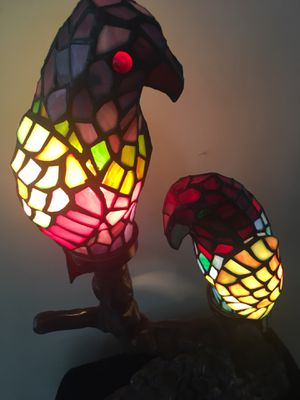 Heavy Stained Glass Tiffany Style Lamp for Sale in Charles Town, WV