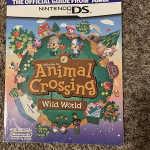 Animal Crossing Wild World Game Guide DS for Sale in Tigard, OR