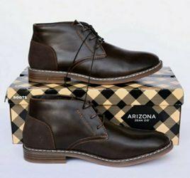 Mens's Arizona Brown Chukka Boots Size 12 for Sale in Camden,  NJ