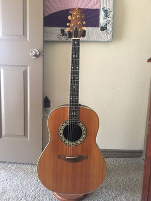 Ovation acoustic guitar for Sale in Austin, TX