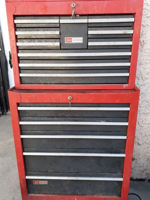 Craftsman Rolling Toolbox & Secondary Box $300 for Sale in Los Angeles, CA