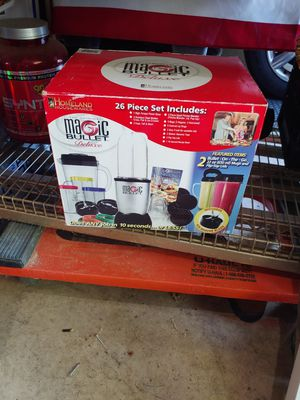 Magic bullet 80 O.B.O for Sale in Westerville, OH