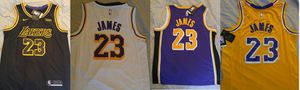Brand new stitched L.A. Lakers LeBron James jersey with tags for Sale in Las Vegas, NV