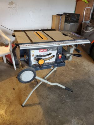 "Ryobi 10"" folding Table Saw for Sale in Corona, CA"