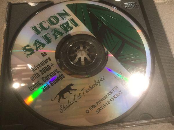 CD ROM ICON SAFARI 2,000 plus icons