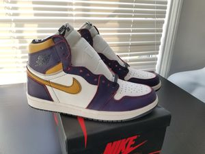 New Nike SB Jordan 1 LA to Chicago Size 8.5 Lakers for Sale in Los Angeles, CA