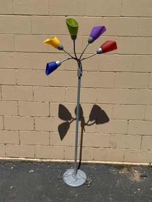 Multi Color standing Lamp for Sale in Woodburn, OR