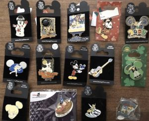 Disney Pin Disneyland pin Mickey Mouse Tinkerbell for Sale in Huntington Beach, CA