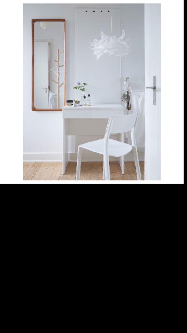 Dressing table, white, 27 1/2x16 1/2