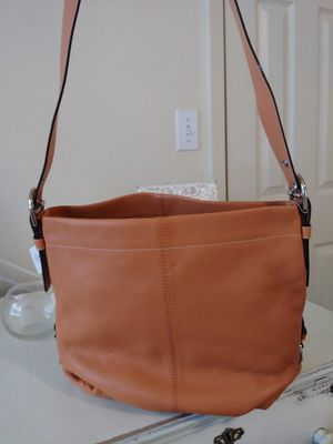 Brand new Coach bag in burnt orange for Sale in Lindale, TX