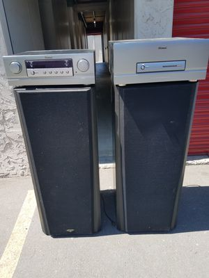 Stereo Sherwood system ,1000 watt amp Klipsch speakers 10 in for Sale in La Mesa, CA