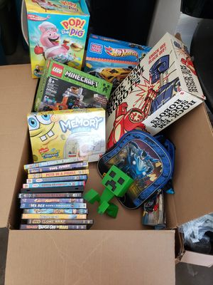 Variety Board Games, Books, DvD's for Sale in Oklahoma City, OK