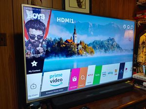 "LG 55"" 4k UHD tv model 55UH6030 for Sale in Fairfax Station, VA"